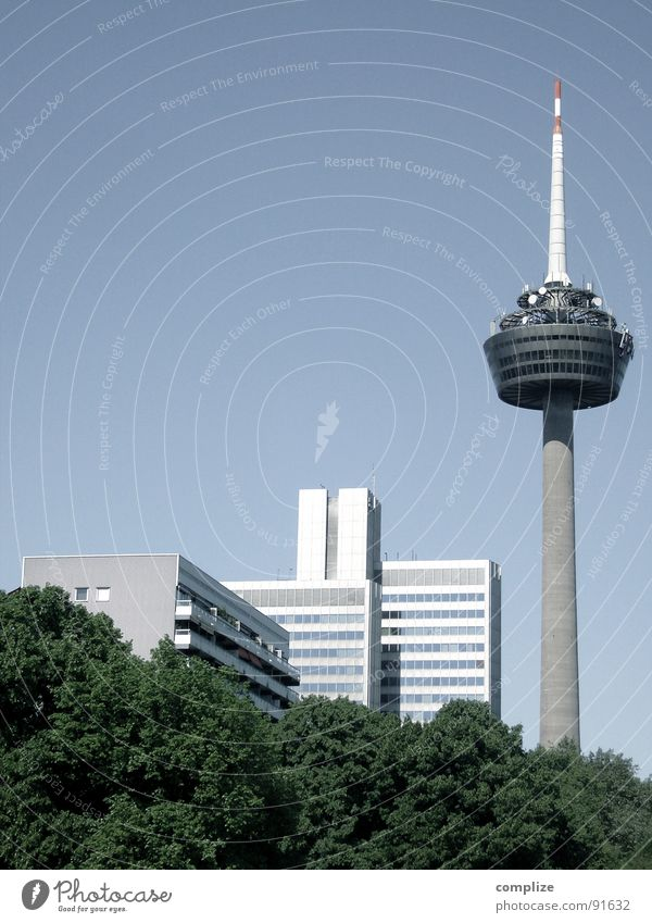 colonia Stadt Wohnung Hochhaus Turm Telekommunikation Aussicht Köln Fernsehturm Nordrhein-Westfalen Colonius - Fernsehturm