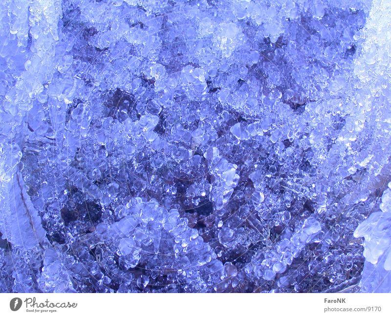 Eiszeit_2 Licht Makroaufnahme Nahaufnahme Wasser