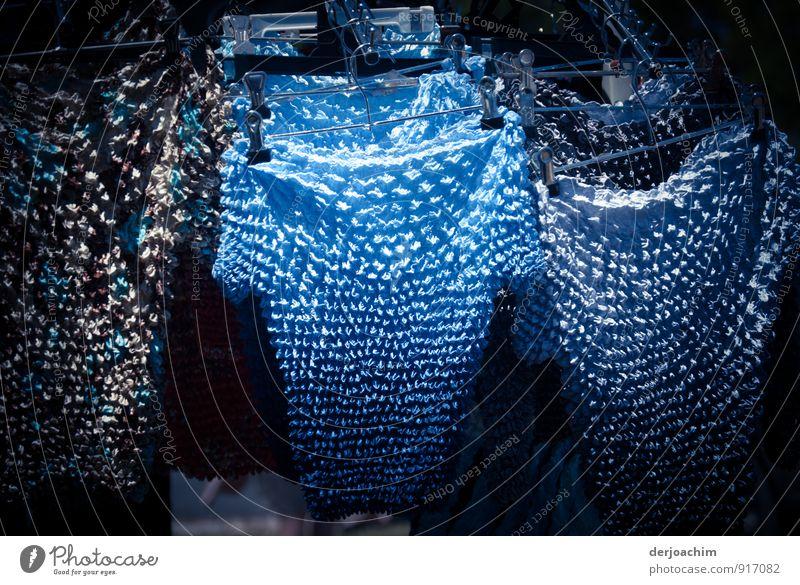 Sonderangebot blau Sommer Freude außergewöhnlich Mode Freizeit & Hobby Stadtleben elegant Schönes Wetter berühren kaufen T-Shirt Wunsch Wohlgefühl trendy