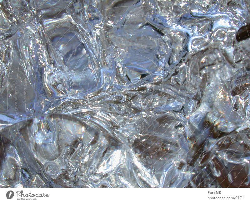 Eiszeit_3 Licht Makroaufnahme Nahaufnahme Wasser