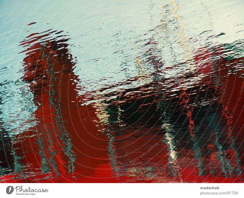 RING DI ALARM Wasseroberfläche Wasserspiegelung Spiegelbild Hintergrundbild Pfütze Wasserlache Kräusel