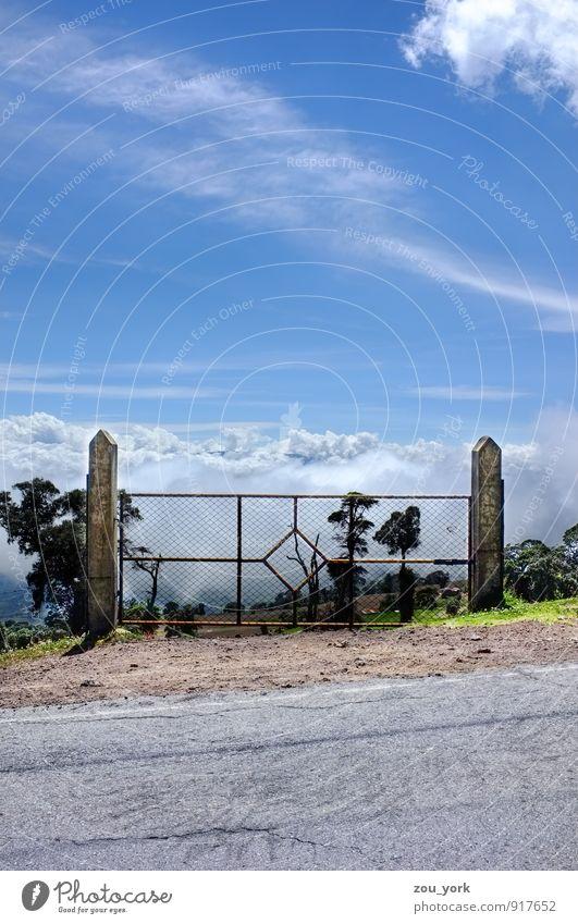 Heavens Gate Himmel Natur Ferien & Urlaub & Reisen Sommer Sonne Erholung Einsamkeit Landschaft Freude Ferne Umwelt Berge u. Gebirge Straße Gefühle Freiheit Stimmung