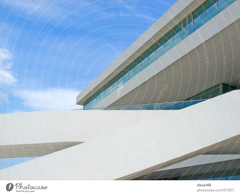 Veles i Vents II Himmel weiß blau Glas modern Medien sehr wenige Valencia