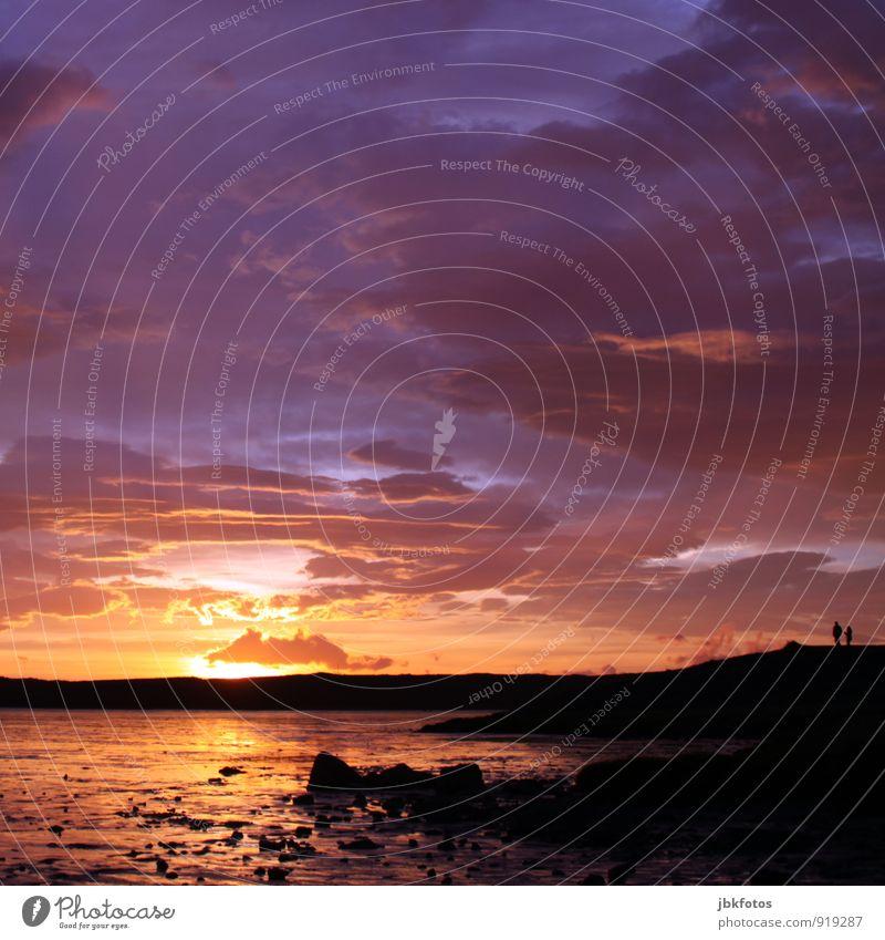 Wohlfühloase | Zweisamkeit Mensch maskulin feminin Paar Partner 2 Umwelt Natur Landschaft Pflanze Wasser Himmel Wolken Sonne Sonnenaufgang Sonnenuntergang
