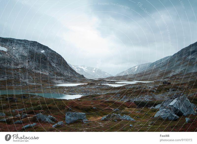 Tschüss liebe Anne....der Weg ist das Ziel Himmel blau weiß Erholung Einsamkeit Landschaft ruhig Wolken Ferne kalt Berge u. Gebirge Umwelt natürlich grau