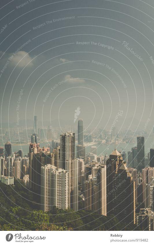 HONGKONG Stadt Haus Park modern Hochhaus groß hoch Asien Skyline Stadtzentrum Hauptstadt Sehenswürdigkeit China gigantisch Hafenstadt Stadtrand