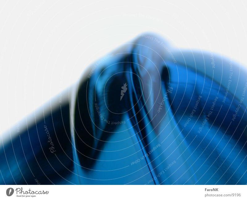 Dark blau Glas Flasche Parfum
