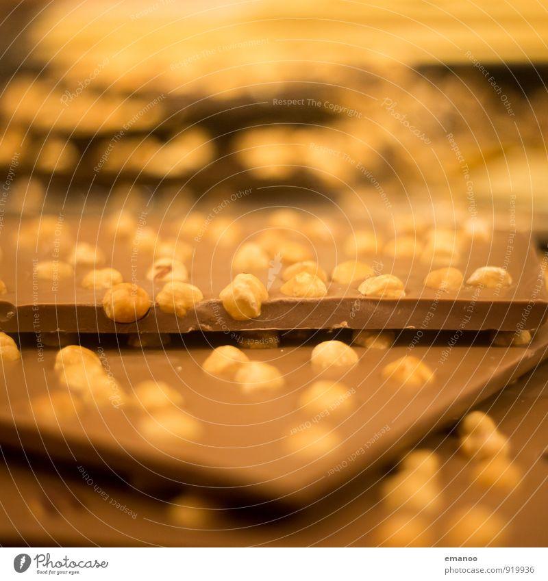 kleine Sünde Lebensmittel Dessert Süßwaren Schokolade Ernährung Lifestyle kaufen Reichtum Freude Gesundheit Übergewicht Wohlgefühl Essen braun Glück Nuss