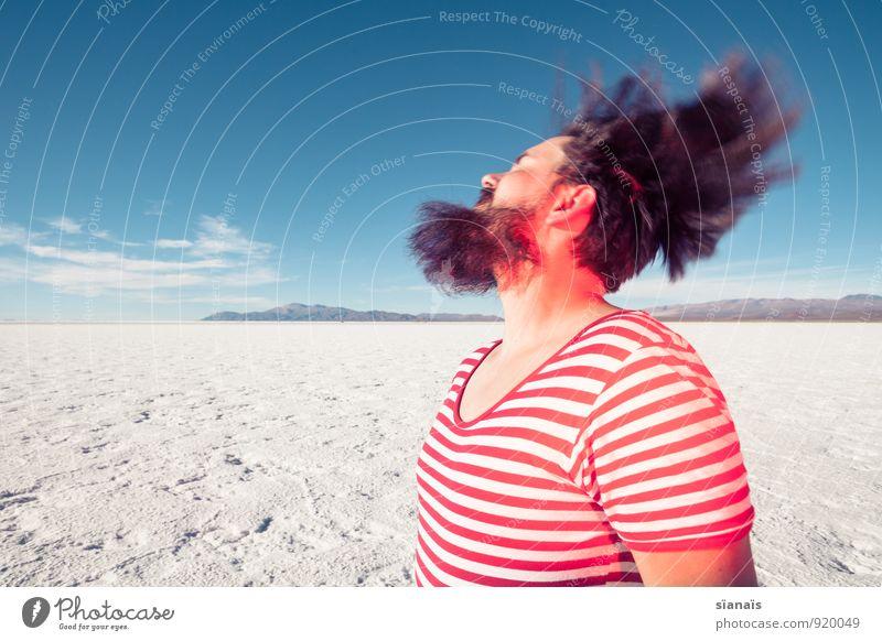 Headbengel 2 Mensch Ferien & Urlaub & Reisen weiß rot Ferne Haare & Frisuren Horizont maskulin Eis Schönes Wetter einzigartig Frost Wüste Wut Bart Surrealismus