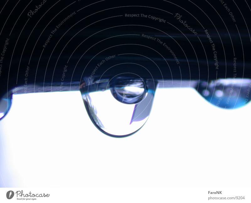 Tropfen Makroaufnahme Nahaufnahme Wassertropfen Regen