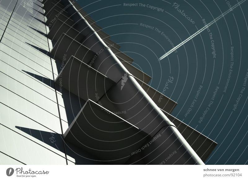 jetzt bitte... Himmel Haus Hochhaus hoch Balkon Frankfurt am Main