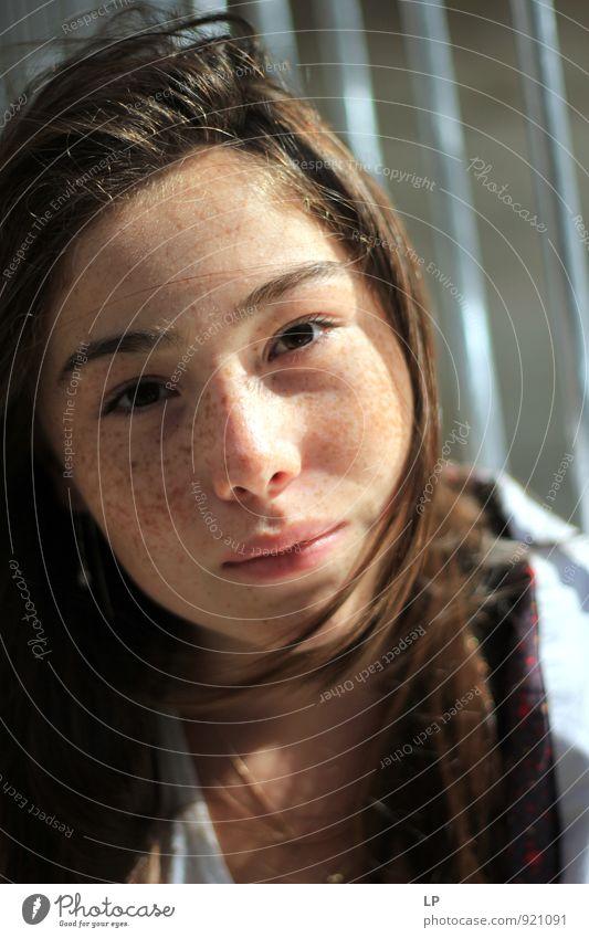 Mensch Kind Jugendliche schön Junge Frau Mädchen 18-30 Jahre Erwachsene Gesicht Auge natürlich feminin Stil Haare & Frisuren frisch 13-18 Jahre