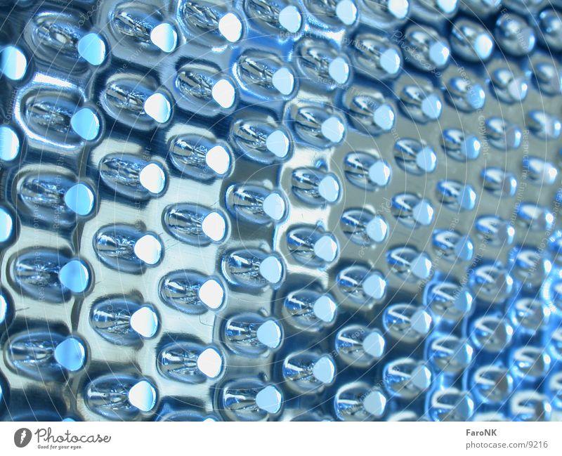 noch eine .... Reibeisen Küche Makroaufnahme Nahaufnahme blau