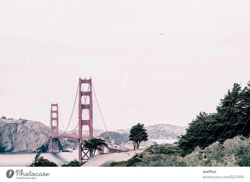 Auf güldene Zeiten, Anne! Sommer außergewöhnlich USA Wahrzeichen Sehenswürdigkeit San Francisco Golden Gate Bridge