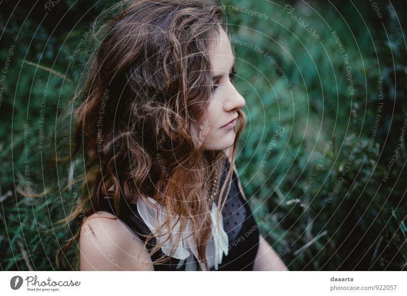 Jugendliche schön Junge Frau Freude Erotik Wärme feminin Liebe Stil Denken Freizeit & Hobby wild elegant Design modern verrückt