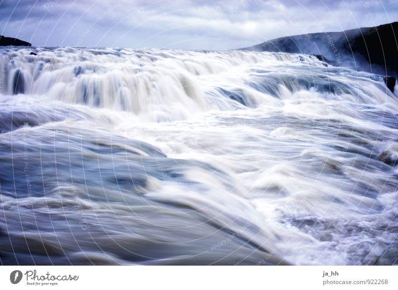Wasserfall Wassersport Natur Landschaft Urelemente Fluss Bewegung Vergänglichkeit Elektrizität Wasserstraße Wasserwirbel Kanusport Kajak Kraft Sog Island