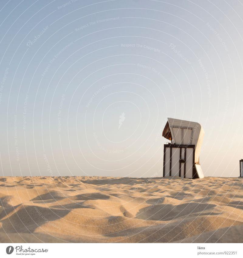 Sommer Himmel Ferien & Urlaub & Reisen Sommer Sonne Erholung Meer ruhig Strand Küste Wege & Pfade Sand Lifestyle Zufriedenheit Tourismus Insel Ausflug