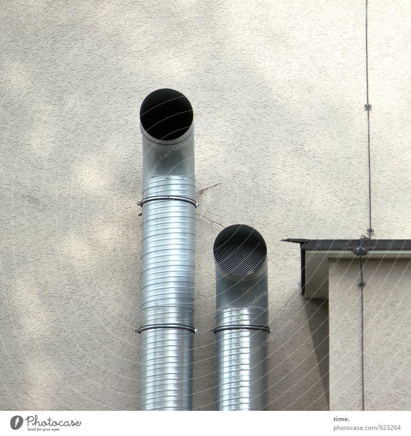Rrrrooaarr Stadt Wand Mauer Metall Freundschaft Zusammensein Angst Kraft Design Perspektive Dach Schutz Güterverkehr & Logistik Netzwerk Zusammenhalt