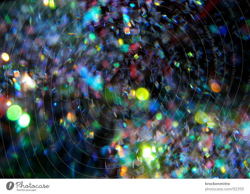 Lichtsturm Farbfleck mehrfarbig Flocke Bewegung durcheinander Leidenschaft Sturm Kreis Fröhlichkeit Freude Farbe color Wildtier Punkt getrieben