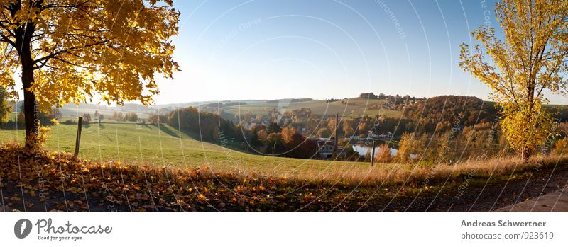 Herbststimmung Gesundheit Fitness Leben Sinnesorgane Ferien & Urlaub & Reisen Tourismus Ausflug Ferne Freiheit Fahrradtour Sonne Berge u. Gebirge wandern Umwelt