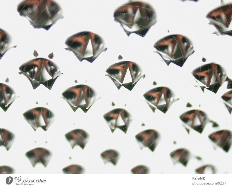 Raspel Reibeisen Loch Makroaufnahme Nahaufnahme Metall