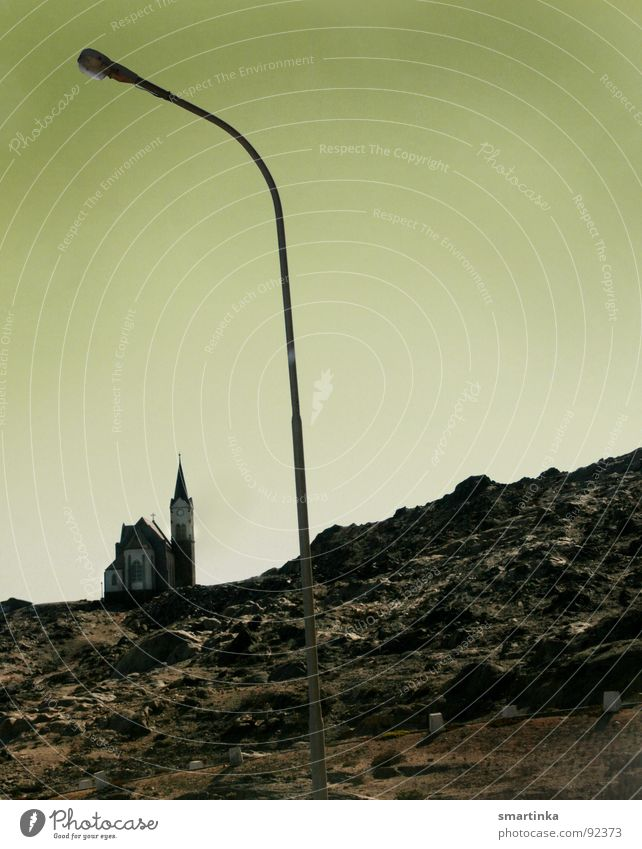 Beleuchtung vs. Erleuchtung Berge u. Gebirge Religion & Glaube bedrohlich Laterne Erkenntnis Moral