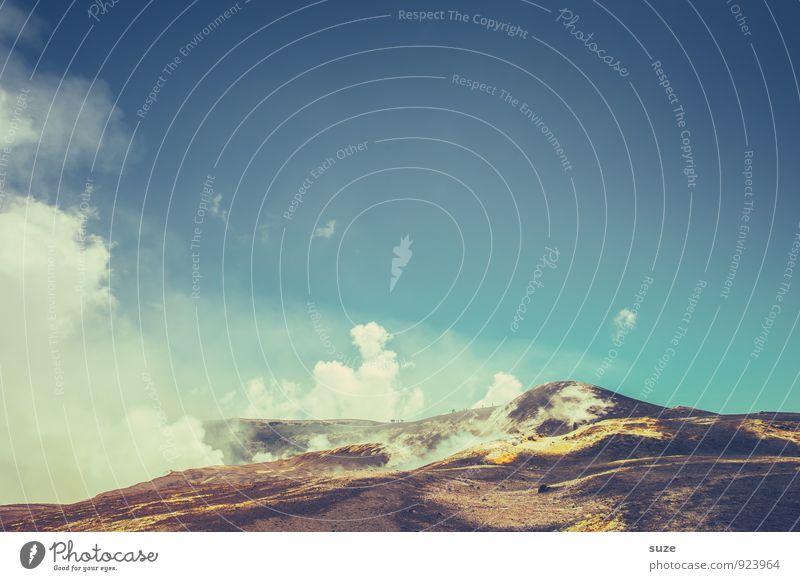 Hölle im Himmel Italien Sizilien Ferien & Urlaub & Reisen Reisefotografie Vulkan Berge u. Gebirge Ätna hoch Abenteuer Expedition aufsteigen Ziel anstrengen
