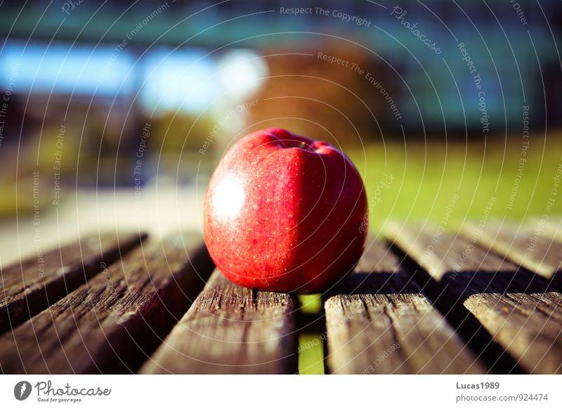 Der Apfel fällt nicht weit.... rot Essen Gesundheit Ernährung Bioprodukte Vegetarische Ernährung