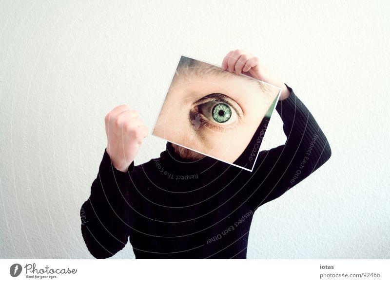 Dein Foto wurde leider nicht bestätigt. Mann Freude Auge Kopf planen Macht Hand Aggression Täuschung gestikulieren Faust drohen drohend