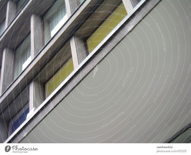 fenstre Haus Straße Fenster Wohnung Glas Block