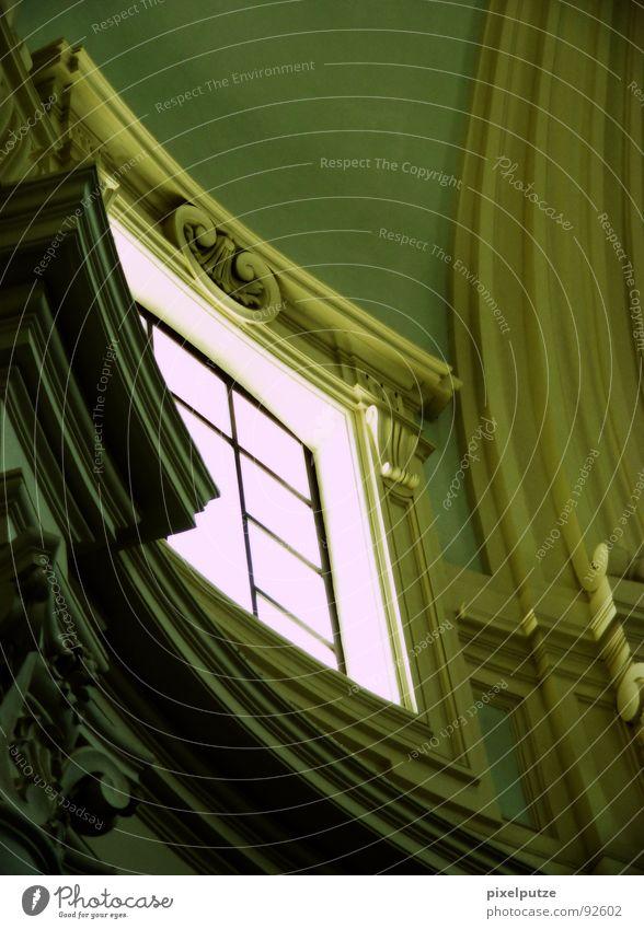 lass die sonne rein alt Fenster Linie Religion & Glaube Architektur Italien Burg oder Schloss Schmuck Denkmal Bauwerk historisch Wahrzeichen Schönes Wetter edel