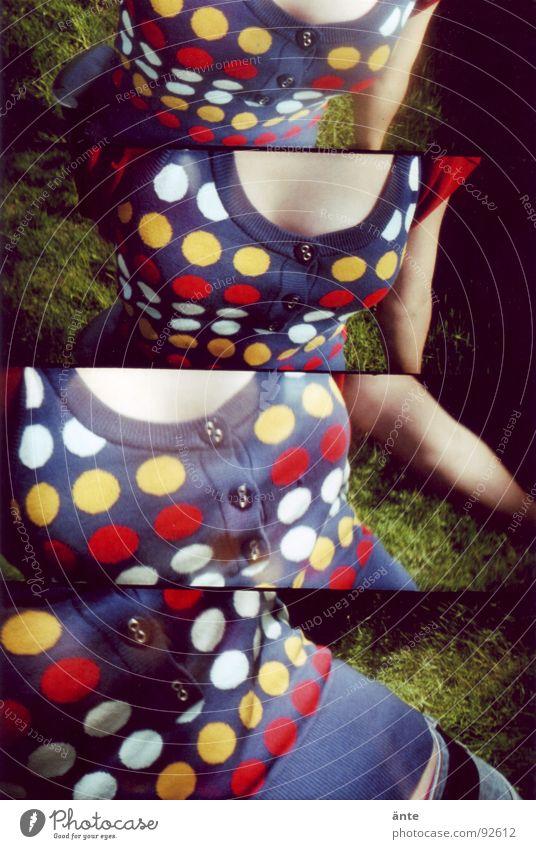 alle meine pünktchen mehrfarbig Top Pullover Physik Knöpfe gepunktet Muster Design Lomografie Freude Punkt Wärme Haut supersampler lomography Mode