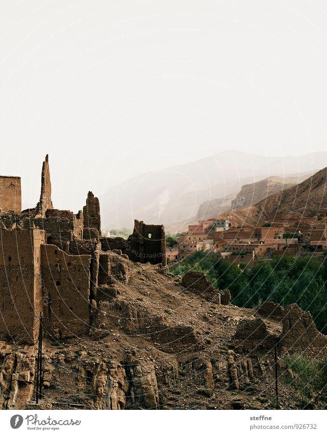 Arabian Dream XIX Ferien & Urlaub & Reisen Tourismus Berge u. Gebirge Felsen Stein alt Marokko Naher und Mittlerer Osten Arabien Atlas Dadestal kasbah Ruine