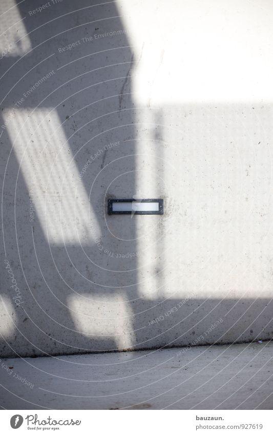 AST7 Pott | lichtschlitz. Stadt Wand Straße Wege & Pfade Mauer Lampe Energiewirtschaft Fassade leuchten Energie Technik & Technologie Beton Stadtzentrum eckig Sonnenenergie Kleinstadt