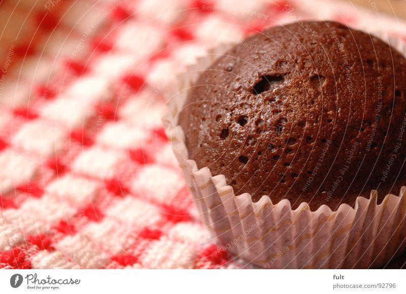muffin Lebensmittel Ernährung rund Teile u. Stücke Kuchen Schokolade Backwaren Tuch Muffin Schokoladenkuchen