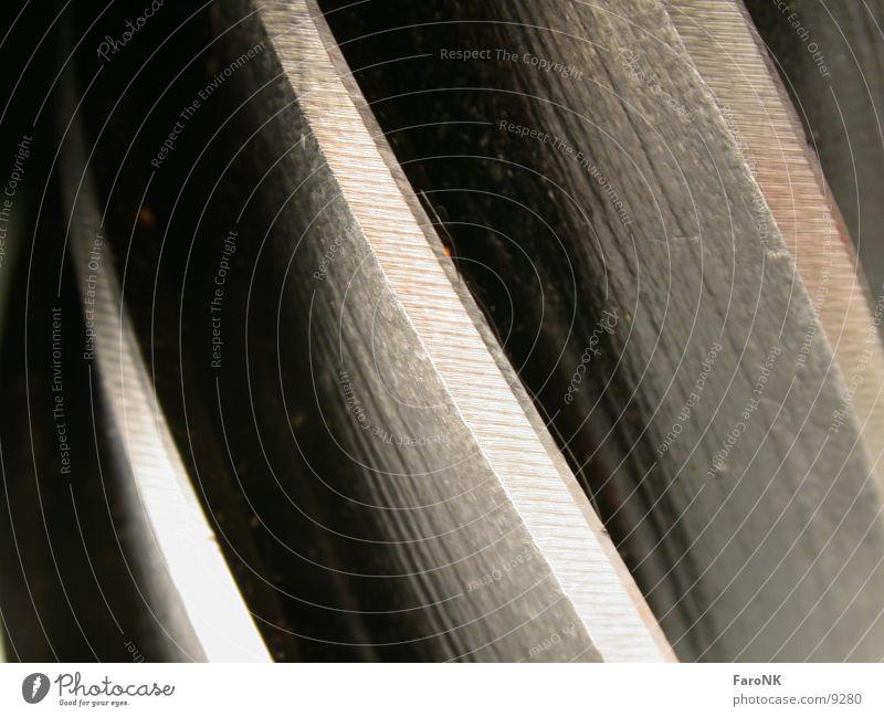 Schneide Werkzeug Makroaufnahme Nahaufnahme schneide Metall
