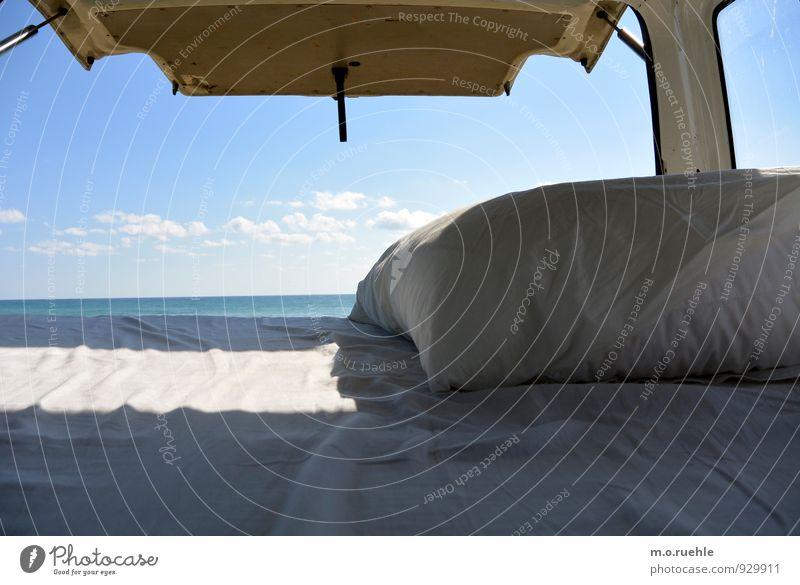 schlafzimmerblick Natur Ferien & Urlaub & Reisen Sommer Sonne Erholung Meer Freude Strand Ferne Küste Freiheit außergewöhnlich träumen Freizeit & Hobby
