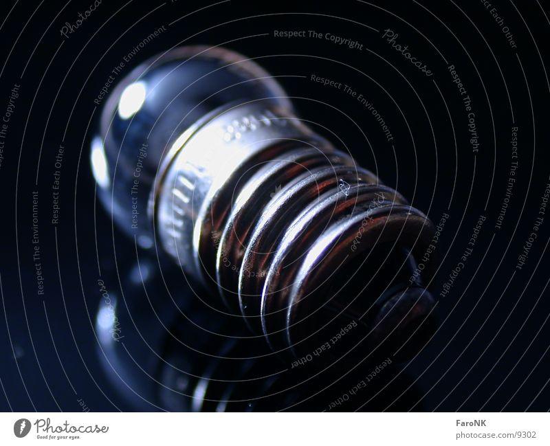 Glühbirne Fussel Makroaufnahme Nahaufnahme