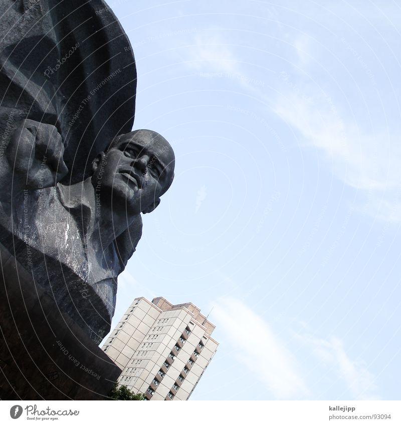 seid bereit - immer bereit! Berlin Deutschland Hochhaus Statue Stahl Denkmal Vergangenheit historisch Skulptur Wahrzeichen Erinnerung Hauptstadt erinnern