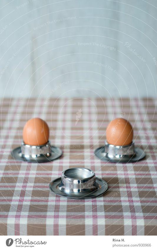 Flügge Leben Gefühle Zusammensein hell Ernährung Beginn Bioprodukte Frühstück Ende Ei Vegetarische Ernährung Tiefenschärfe Eierbecher