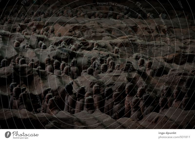 Nachtwache Mensch dunkel Reisefotografie grau Stein außergewöhnlich Kunst stehen bedrohlich historisch Bildung Bauwerk Vergangenheit Denkmal Sehenswürdigkeit