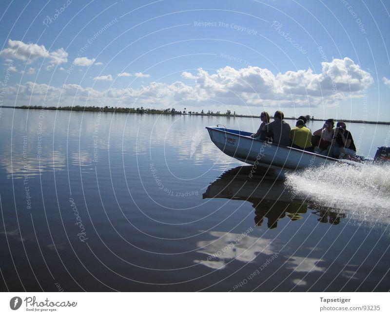 Bootstour Wasser Himmel Sommer Wolken See Wasserfahrzeug Insel Kuba