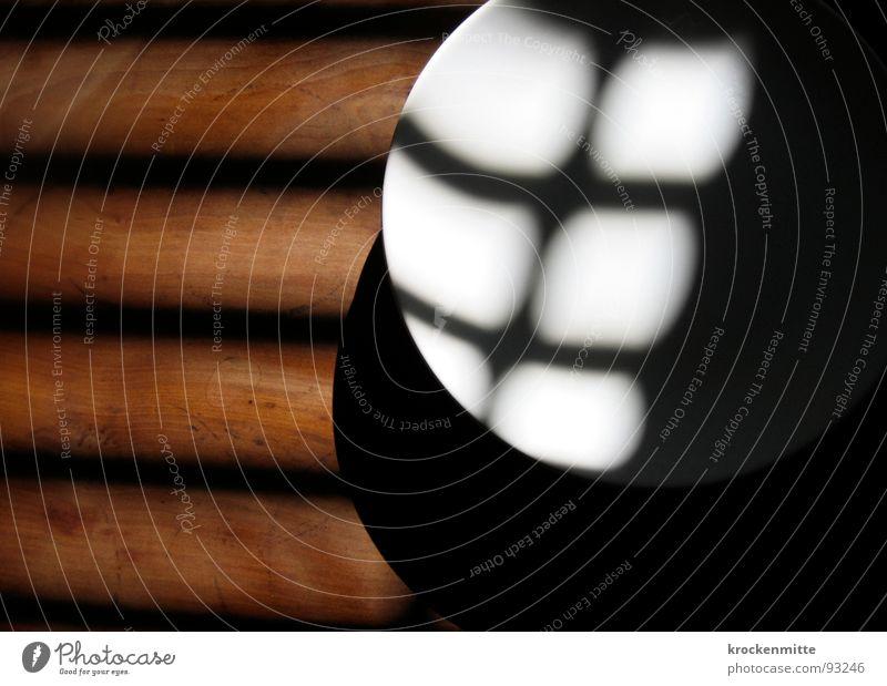 sixpack Teller Schatten Licht Tisch Holz Geschirr Küche Haushalt Sixpack leer Fasten Küchentisch Ernährung Bauchmuskel plate Appetit & Hunger nulldiät