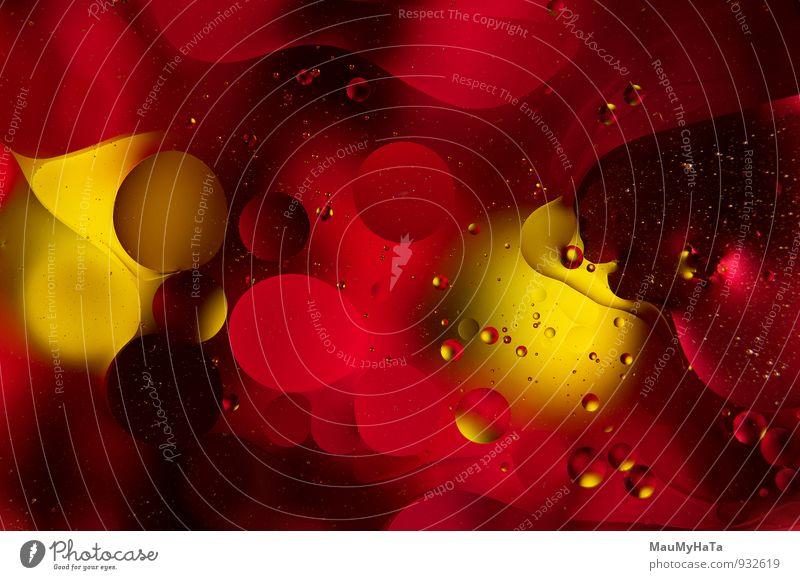 Natur gelb Design Fotografie Kreativität Tropfen erleuchten Wissenschaften