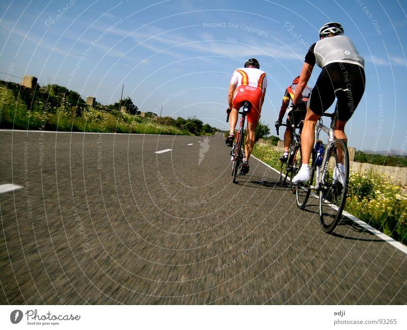 Speed Straße Sport Fahrrad Geschwindigkeit Asphalt Fitness fahren Fahrradfahren Radrennen Rennrad