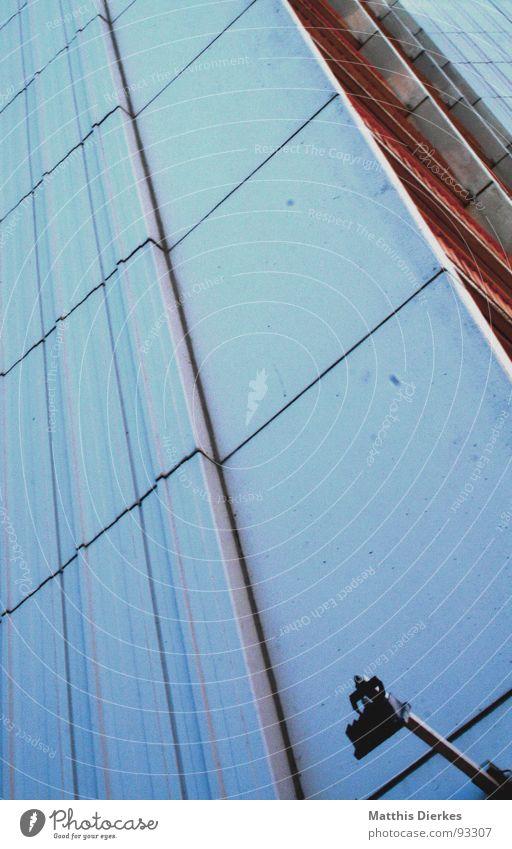 FASSADE Himmel Ferien & Urlaub & Reisen Stadt blau weiß Erholung Strand dunkel Wand Beleuchtung Gebäude grau Lampe Linie Wohnung träumen