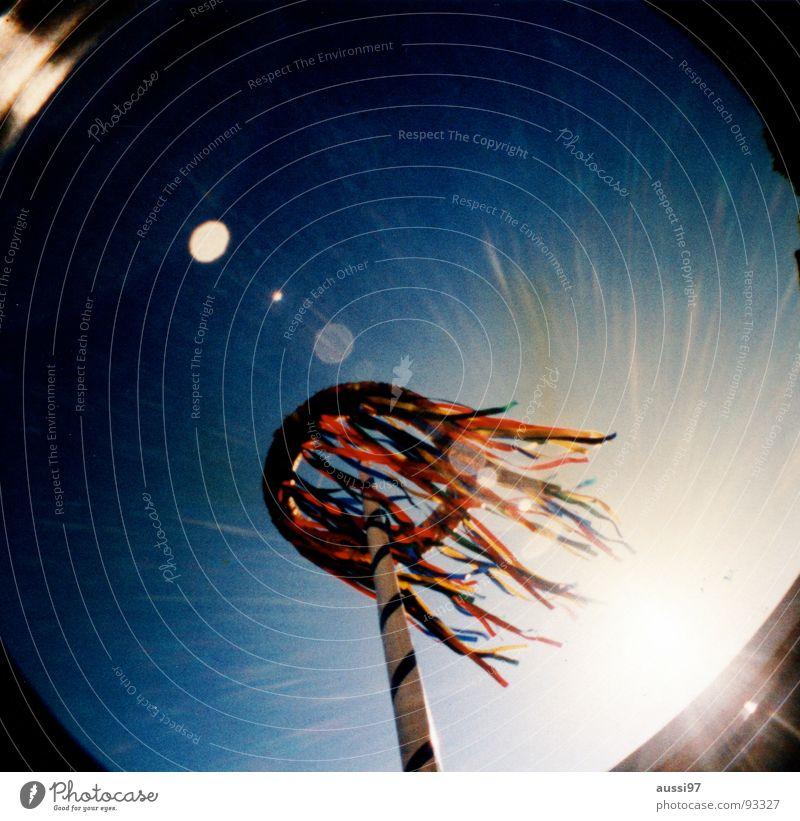 Maistrahlung Maibaum Strahlung Feiertag Baum Frühling Wind Schnur Sonne Freude Feste & Feiern tanz in den mai maitanz alles neue macht der mai 5.Monat