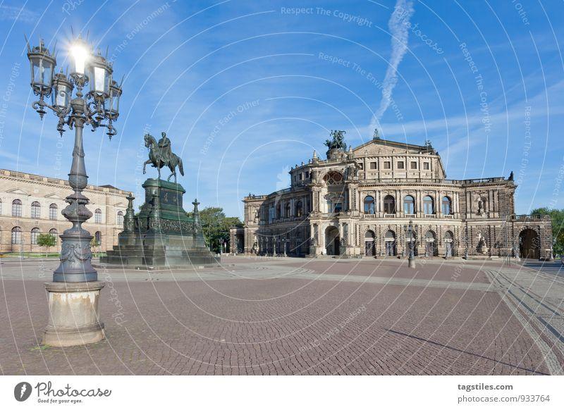 SPOTLIGHT Ferien & Urlaub & Reisen Stadt Sonne Reisefotografie Architektur Deutschland glänzend Kultur Postkarte Wahrzeichen Hauptstadt Dresden Sachsen