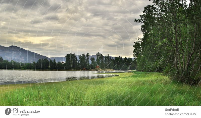 Vrodal Natur Himmel Ferien & Urlaub & Reisen See Idylle Norwegen Telemark