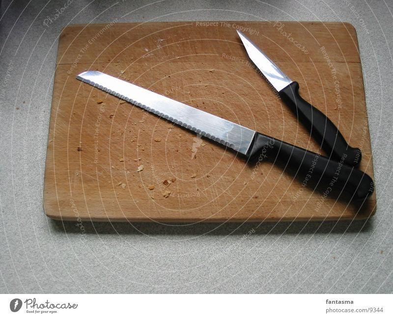 Brotzeitholz Vesper Holz Ernährung Messer